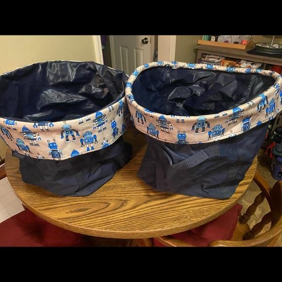Thirty one storage baskets